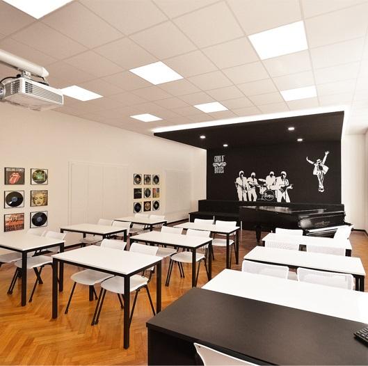 Hudebna, Gymnázium Vídeňská